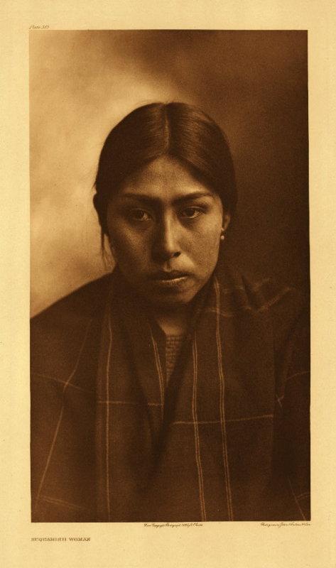 Suquamish woman