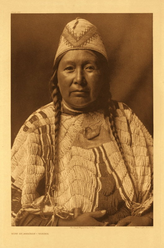 Wife of Mnainak - Yakima
