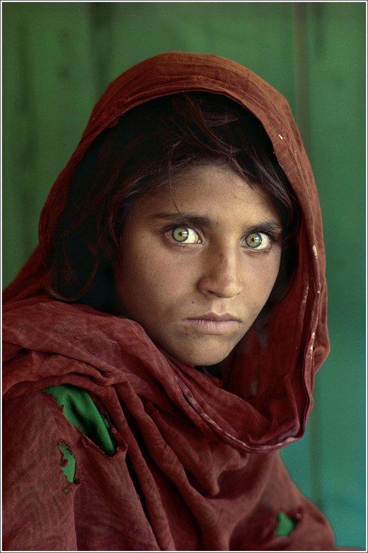 Steve McCurry /b.1950/: Afghan Girl, 1984