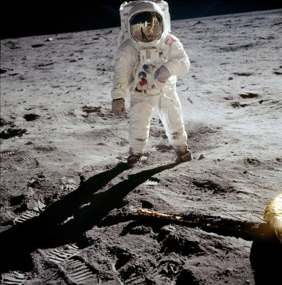 Neil Armstrong /b.1930/: Edwin Buzz Aldrin, The Second man on the Moon, 1969