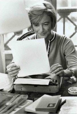Françoise Sagan, Paris, November 24th, 1961 © Luc Fournol