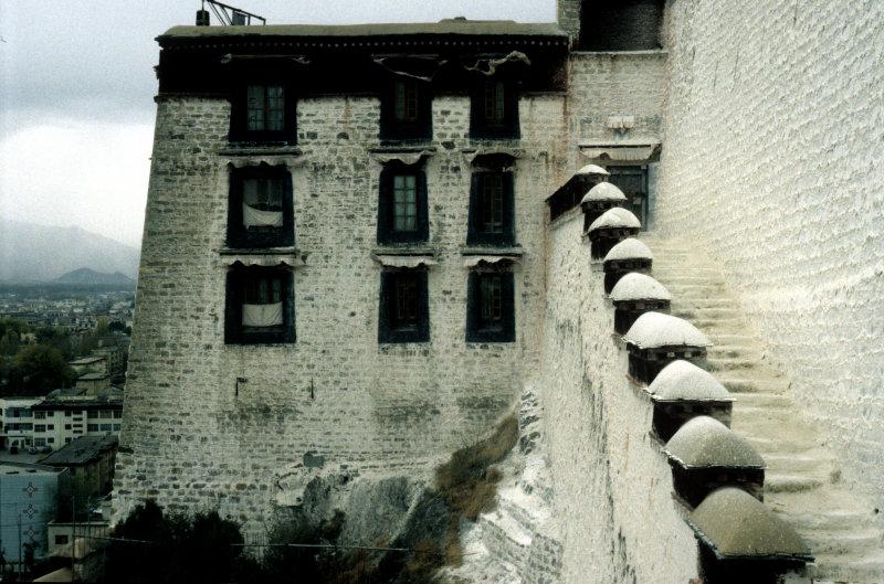 Lhasa, Detail of the Potala