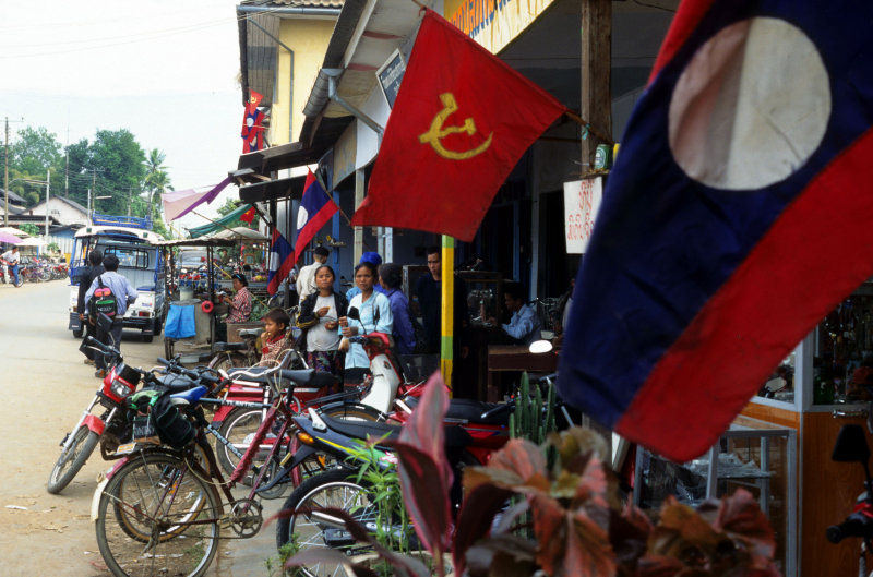 Vientiane. Street life