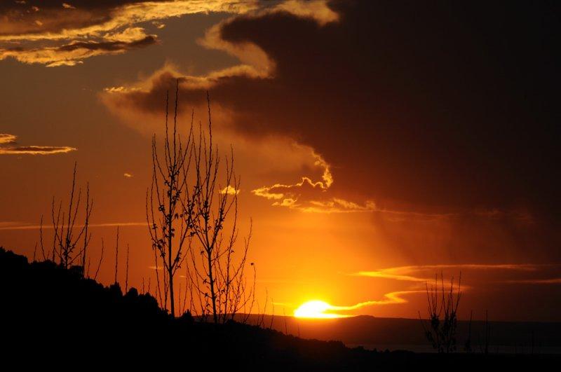 Pocatello-American-Falls-Reservoir Sunset _DSC5232
