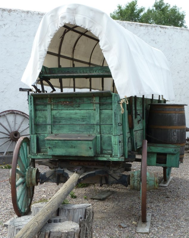 Green Wagon at Fort Hall Replica P1020206.jpg