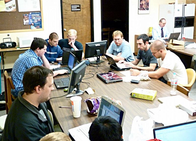 ISU students participating in an international programming contest P1030091 smallfile.jpg