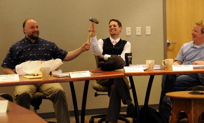 Farewell to John Masserini at a Faculty Senate Meeting _DSC2469.jpg