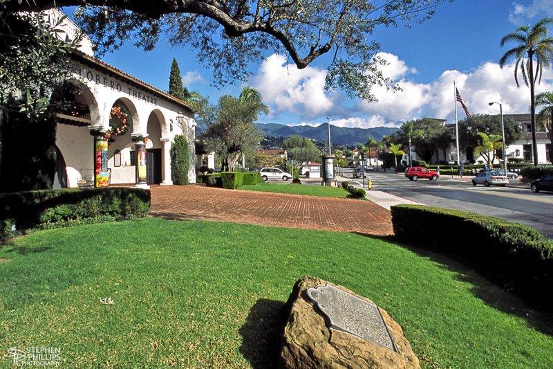 Old Lobero Theater in Santa Barbara