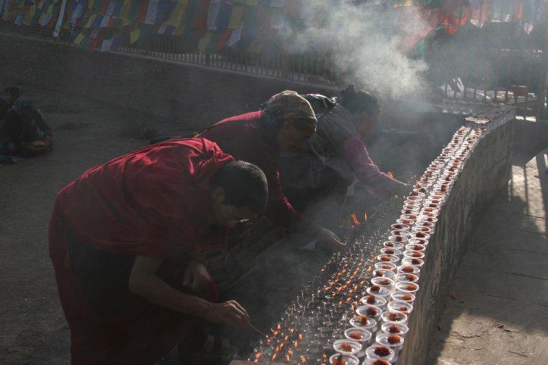33 Offrandes à Bouddha
