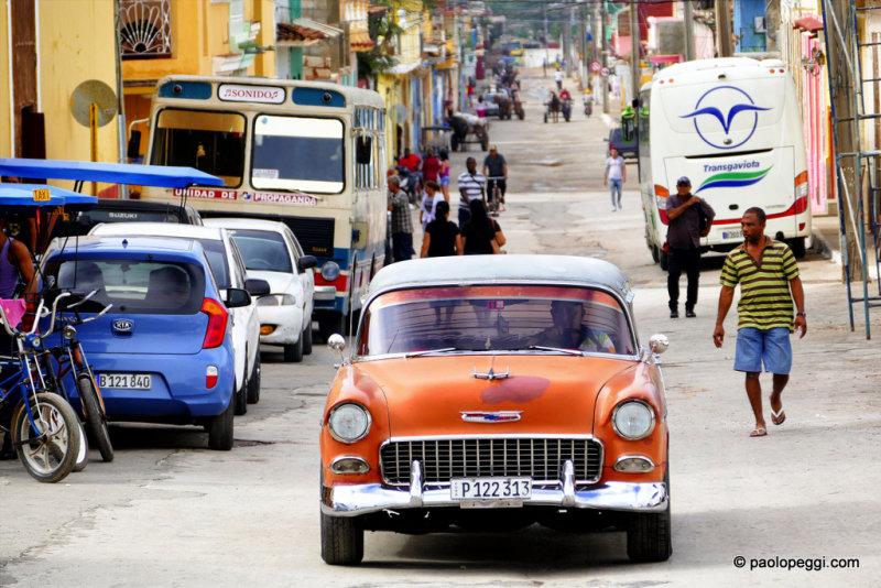 Street life in Trinidad,Cuba