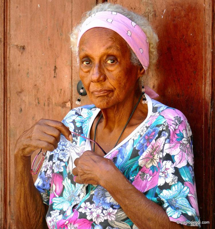Old lady, Havana (La Habana Vieja) Cuba