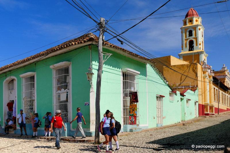 School-time, Trinidad, Cuba