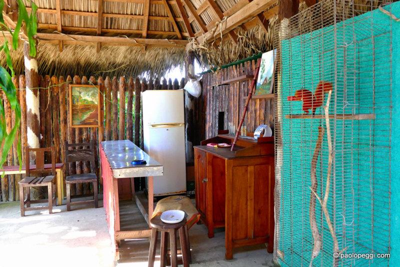Small bar in the Cuban cigar factory