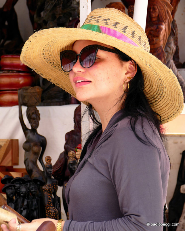 Street market at Cienfuegos ,Cuba