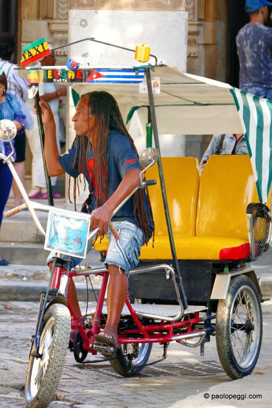 Taxi Rasta, La Habana,Cuba