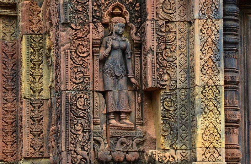 Devata at Banteay Srei Temple
