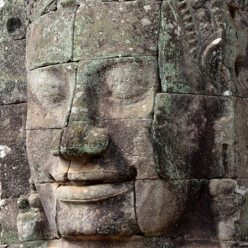 Face at Bayon Temple
