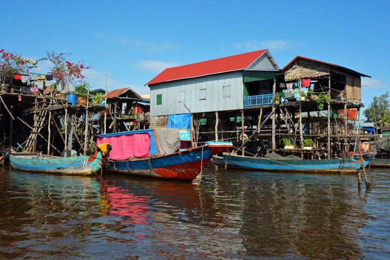 Floating Houses - Kampong Phluk