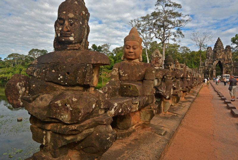 Entrance to Angkor Thom