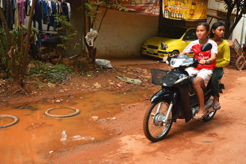 Going to The Lake Tonlé Sap