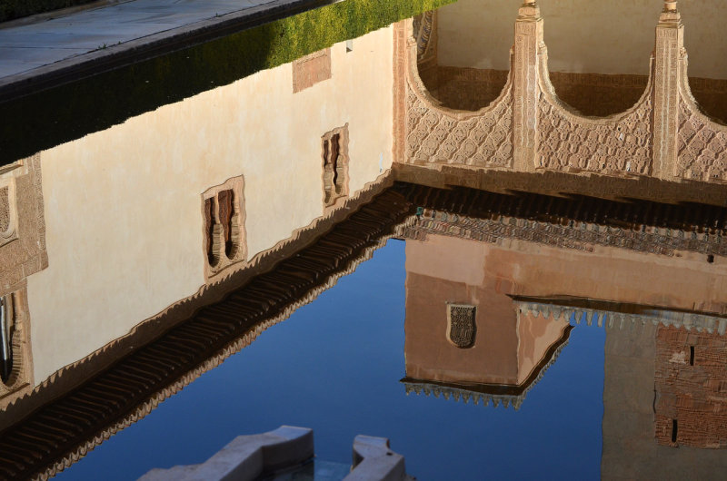 Reflection - Courtyard of the Myrtles