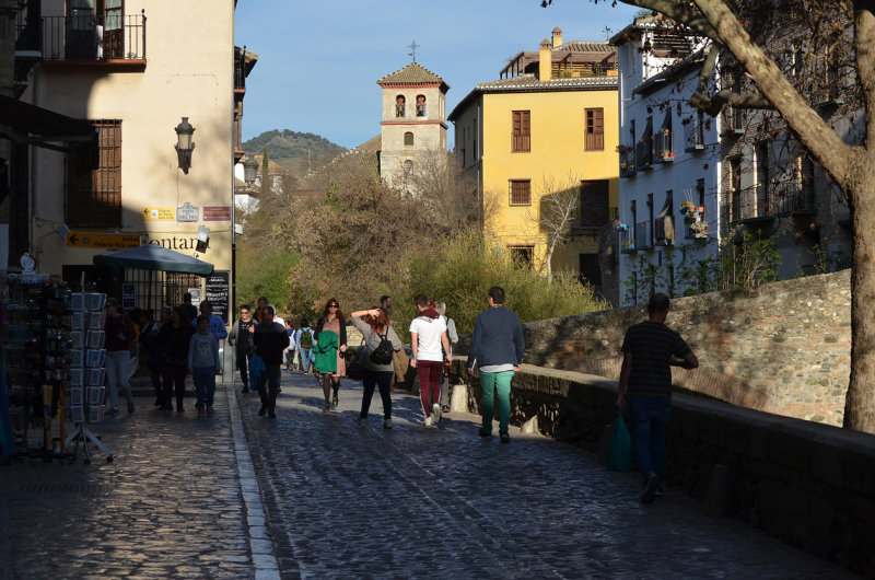 Carrera del Darro Street