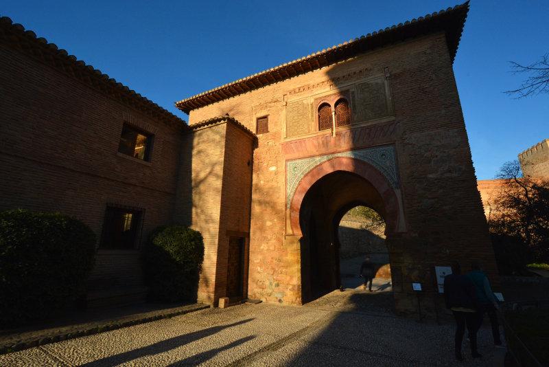 Entrance to The Alcazaba