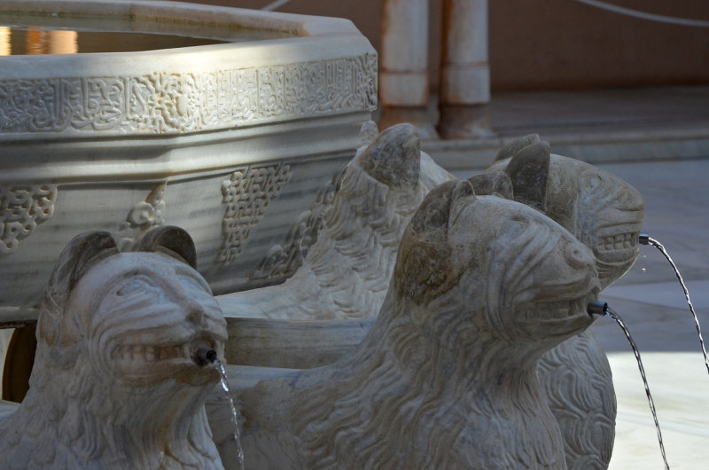 Lions Fountain - Detail