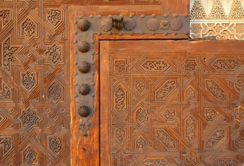 Wooden Door - Detail