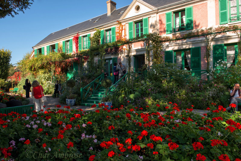 Claude Monets House in Giverny