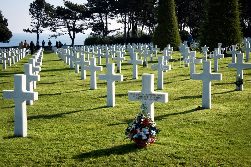 American Cemetery Normandy, France