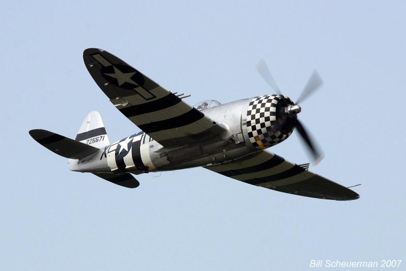 P-47 Thunderbolt No Guts No Glory