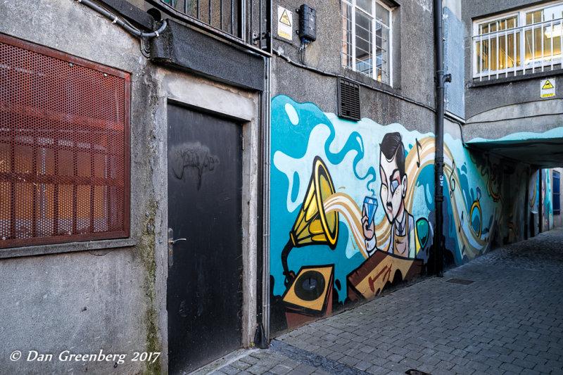 Wall Art in a Back Alley