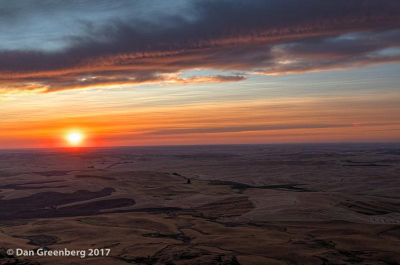 Sunset from Steptoe Butte