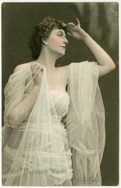 Mrs Maesmore Morris (Gertrude) Edwardian Actress