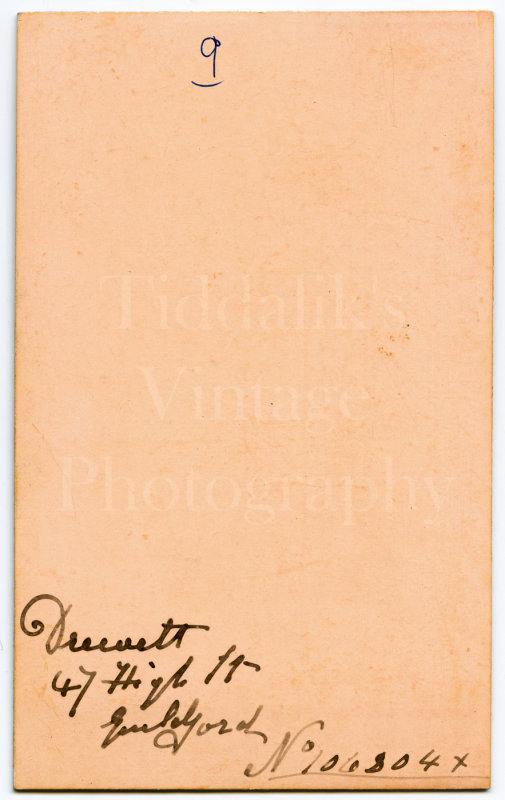 CDV Carte de Visite Photo