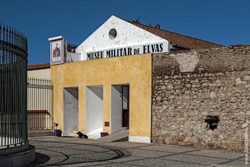 O Museu Militar no Baluarte do Casarão