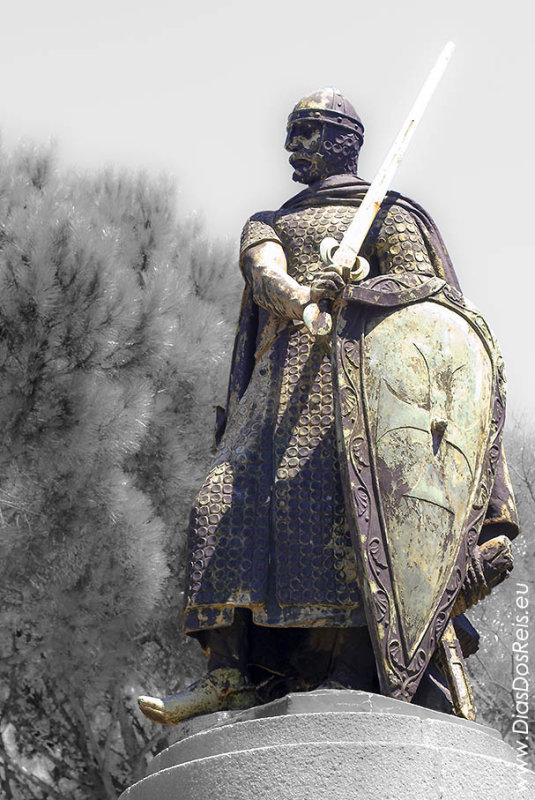 Dom Afonso Henriques, Portugal Founder and 1st King in 1143