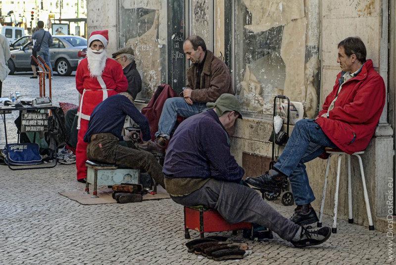 O Pai Natal dos Engraxadores