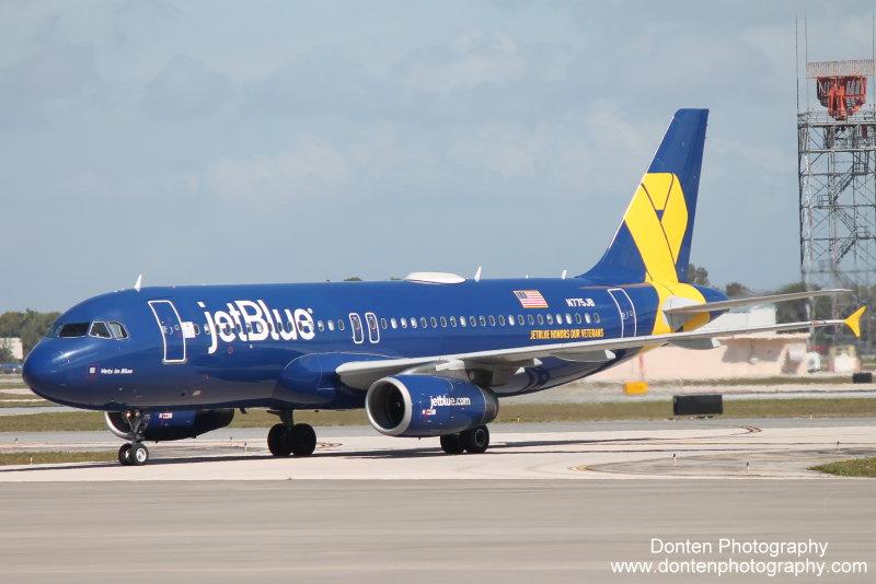 N775JB Vets in Blue