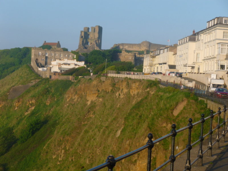 Scarborough Castle from my hotel