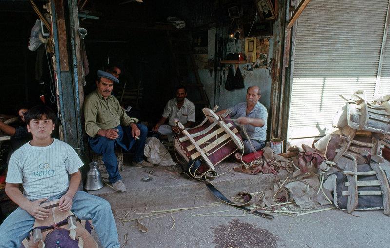 Antakya saddle makers