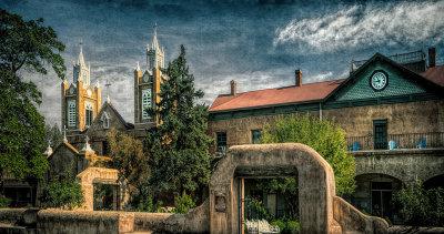 San Felipe de Neri Church, Old Town, Albuquerque