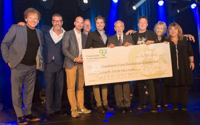2018 Souper-bénifice de la Fondation Yvon Deschamps Centre Sud.