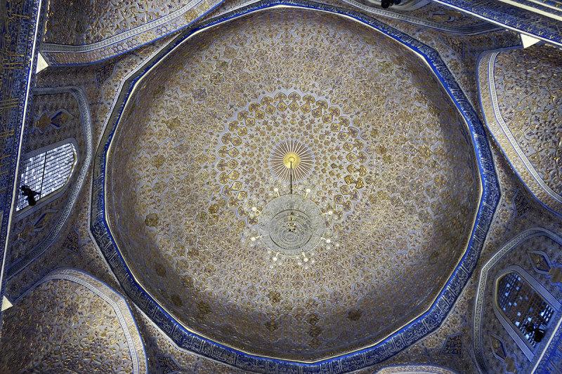 Mausoleum dome, Gur-e-Amir