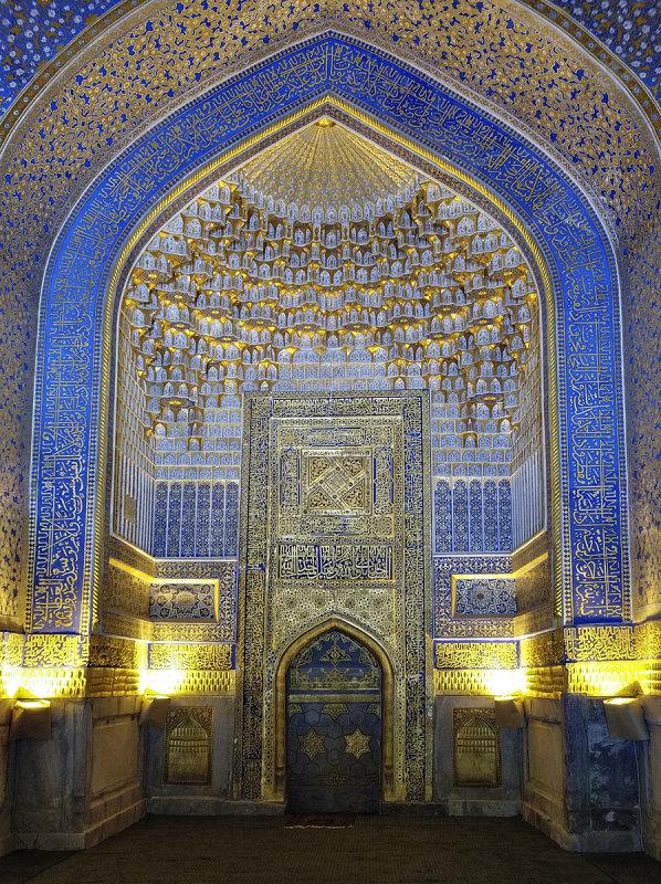 Mosque, Tilya-Kori Madrasah, Samarkand