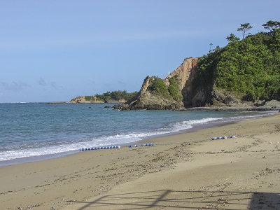 Camp Schwab beach (Pacific Ocean side)