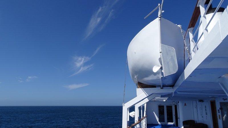 Galapagos Legend Lifeboat
