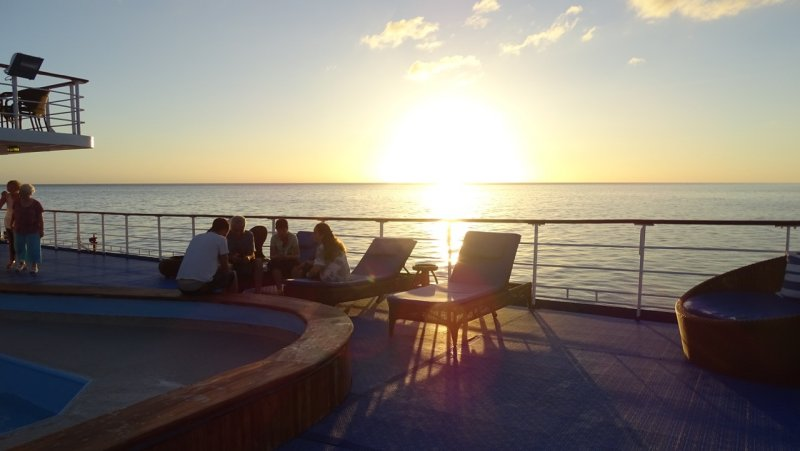 Galapagos Legend Sunset