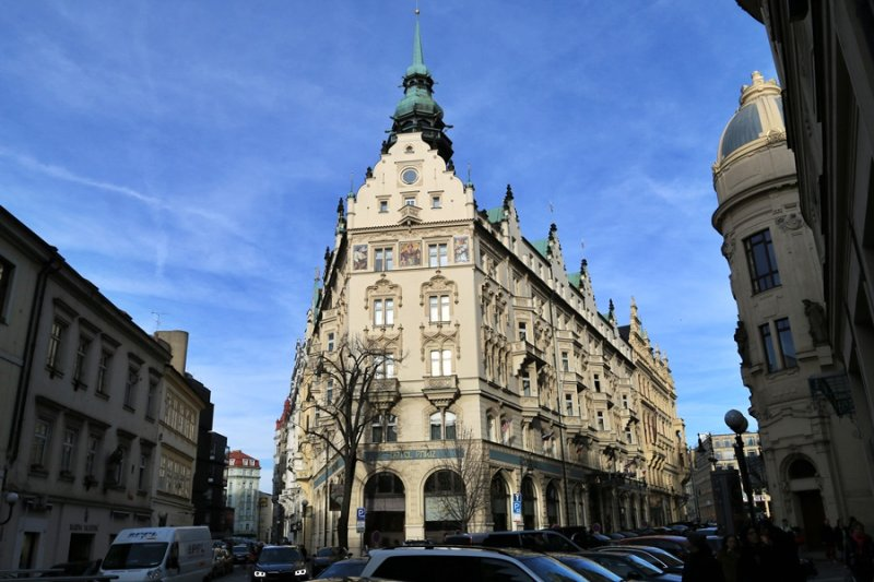 Prague. Hotel Paris